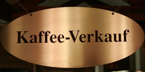 Kaffee-Verkauf