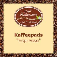 "Kaffeepads ""Espresso"""