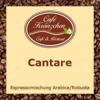"""Espresso """"Cantare"""""""