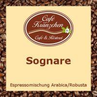 """Espresso """"Sognare"""""""