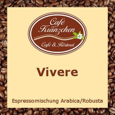 """Espresso """"Vivere"""""""