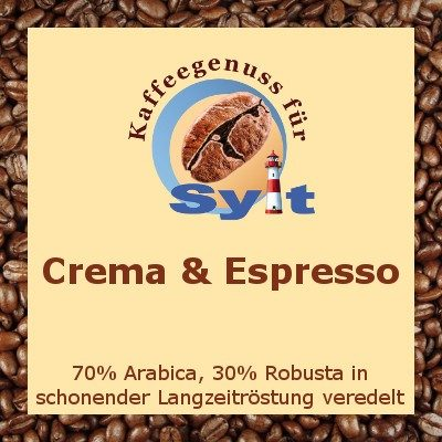 Kaffeegenuss für Sylt - Crema & Espresso