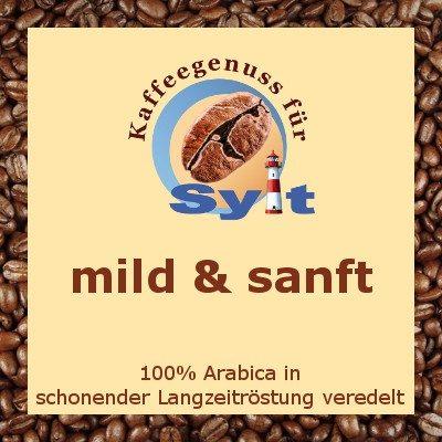 Kaffeegenuss für Sylt - mild & sanft