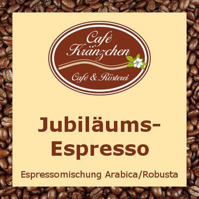 Jubiläums-Espresso