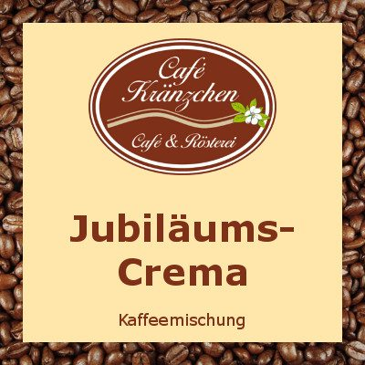 Jubiläums-Crema